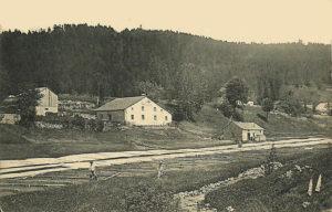 Photo de l'usine ancienne